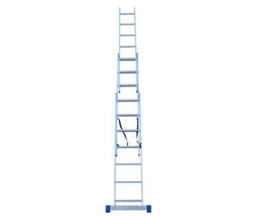 Τριπλή σκάλα αλουμινίου