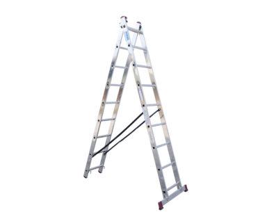 Σκάλα αλουμινίου διπλή